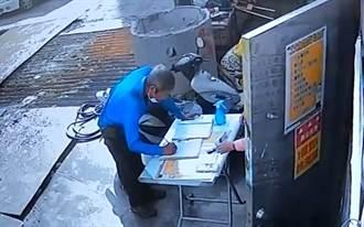 未上工沒戴安全帽也遭罰 工人被高市府監視器拍到截圖罰6千
