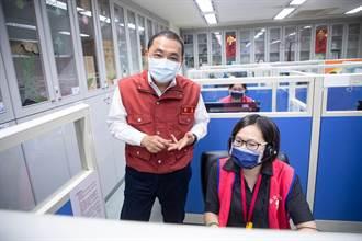 疫苗預約中央接手 侯友宜:預約新北施打近19萬人