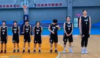 14歲少女追平姚明 身高226公分爸媽都是職業籃球員
