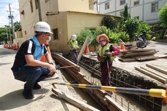 鹿港老人文康中心機關遇密集大雨就淹 公所深入把脈改善排水