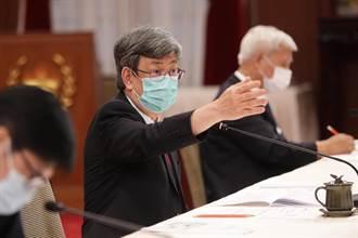 陳建仁曾曝打高端沒副作用  羅智強轟:「國產生理食盬水」耍國人