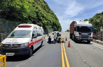 26歲女台2線騎Gogoro 疑跨雙黃線撞對向垃圾車頭部重創亡