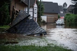 西歐驚降百年難見暴雨 災情最慘國至少80死、1300人失蹤