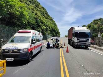 新北貢寮女騎士與垃圾車擦撞 送醫傷重不治