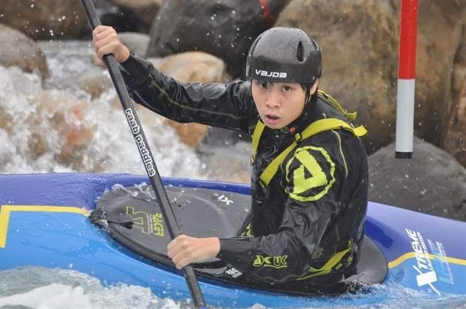 台中市優秀的輕艇選手張筑涵,今年將成為我國史上第一位出賽東京奧運輕艇運動項目選手。(張筑涵.台中市府提供/盧金足台中傳真)