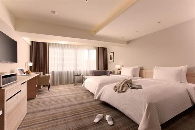 國泰飯店觀光事業推出「住房訂閱制」服務,旗下和逸飯店台北民生館亦加入。(圖/國泰飯店觀光事業提供)