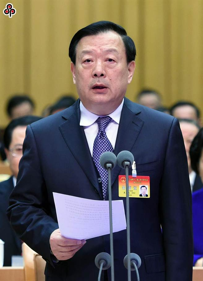 香港國安法周年回顧展望研討會,國務院港澳辦主任夏寶龍向管治者提七項要求。圖為夏寶龍資料圖片。(中新社)
