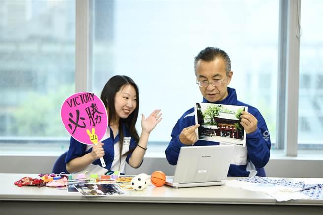 Airbnb 與日本志工支援基金會合作,推出一系列奧運場館巡禮免費線上體驗。(Airbnb 提供/黃慧雯台北傳真)