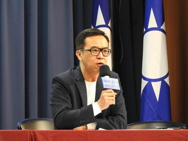 國民黨文傳會副主委黃子哲。(資料照片)