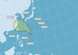 烟花颱風最快今生成 西進路徑曝!不排除往台灣來