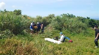 萬里驚傳飛行傘意外 65歲男降落失敗摔落 送醫前死亡