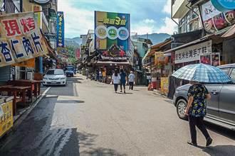 微解封首個周末 新竹縣內灣、北埔老街遊客稀稀落落