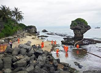中油漏油影響小琉球生態 立委籲盡速補償