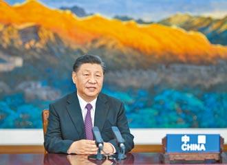 APEC講話 習近平:中國將提供30億美元助國際抗疫