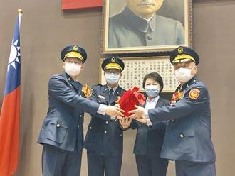 台中蔡蒼柏接警察局長 盧秀燕有信心