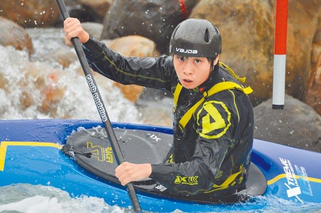 台中市輕艇選手張筑涵今年將成為我國史上第一位出賽東京奧運輕艇運動項目選手。(張筑涵.台中市府提供/盧金足台中傳真)