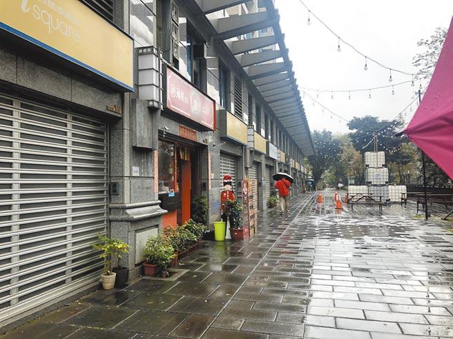 板橋青創浮洲創業空間,提供35戶店面、辦公室物件,以及20個周末攤位,每坪租金150元起。(新北市經發局提供/葉德正新北傳真)