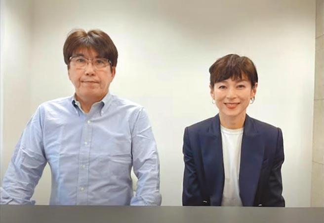 石橋貴明(左)昨閃電宣布與鈴木保奈美結束23年婚姻。 (摘自YouTube)