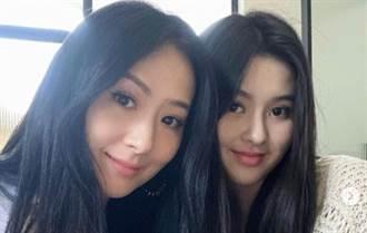 孫芸芸與21歲正妹女兒齊穿低胸背心 上帝視角美呆了