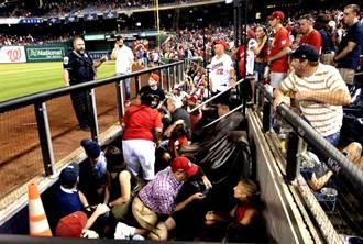 影》華府棒球場外驚傳槍響 至少4人傷 大批球迷往外逃