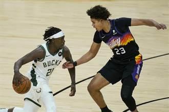 NBA》哈勒戴關鍵抄截 公鹿險退地主太陽爭冠聽牌