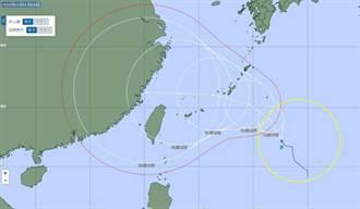 烟花6小時內路徑大修正 日本氣象廳估直撲台灣