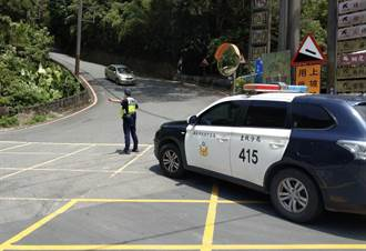微解封第一個周末 土城警加強重要風景區交通疏導
