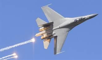 殲-16扮要角 陸擾台狂練新戰術