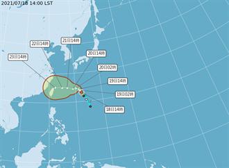 烟花恐變強颱 氣象專家示警:周二是關鍵