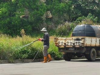 苗栗道路兩側遭噴灑除草劑 違法竟無從處罰