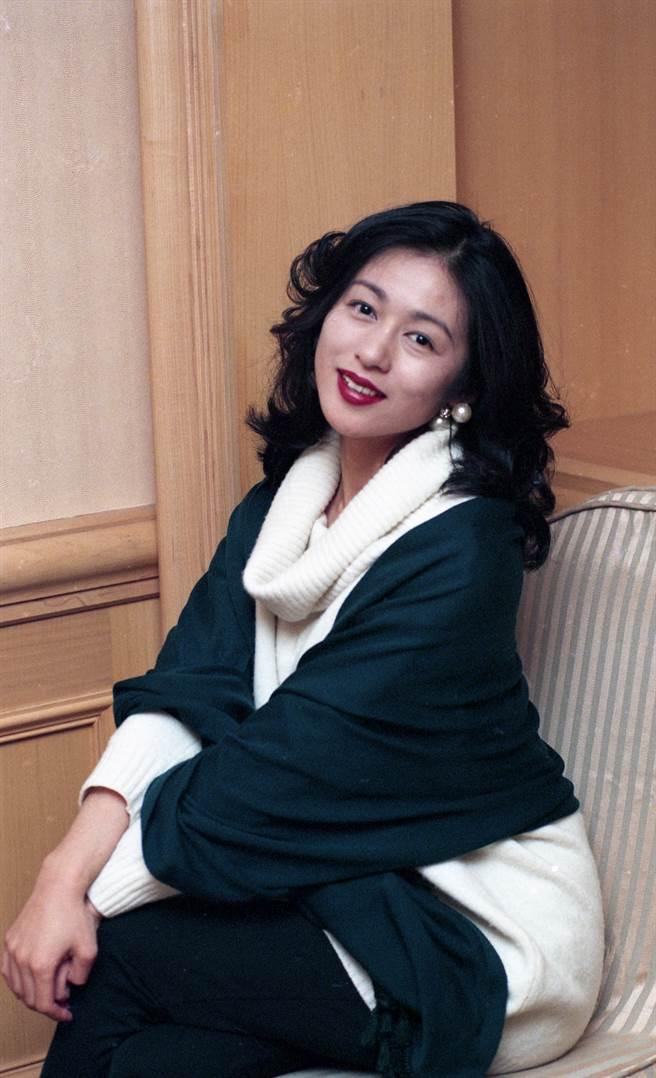 青山知可子1994年曾來台參加金馬酒會。(本報系資料照)