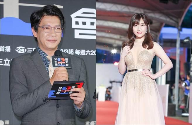 蔡尚樺與徐展元擔任《全明星運動會》賽事播報員。(圖/本報系資料照片)