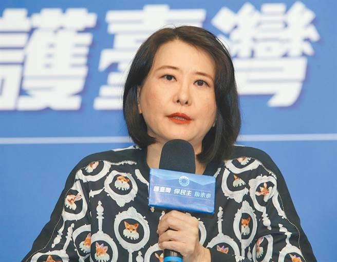 國民黨北市議員王鴻薇。(本報資料照片)