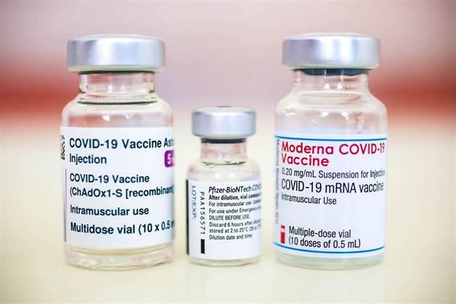 打哪種疫苗最好?有網友引述數據指出,以AZ接種第二劑資料比照莫德納接種第一劑,莫德納的死亡率說不定不輸AZ,甚至比AZ高。(示意圖/達志影像)