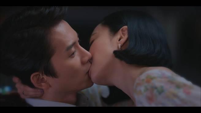 金玟廷對池晟主動獻吻。(friDay影音提供)