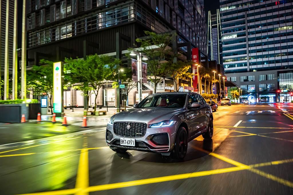 Jaguar今日發表小改款F-Pace,首波導入P250 S與P250 R-Dynamic S兩種車型。