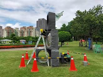 本土疫情微解封   豐樂公園54件雕塑品啟動維護迎人潮