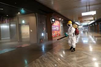 台北車站地下街K區19日恢復營業 市政府再派人員全面消毒