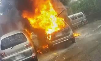 新車自燃燒成骨架10萬現金也成灰 車商裝傻駕駛痛批無良