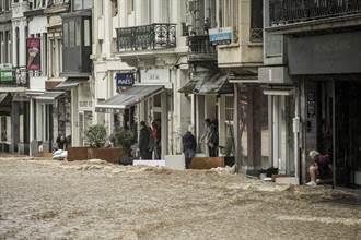 西歐洪患  比利時增至31死