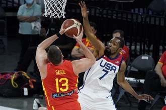東奧》調整完畢!美國男籃最終熱身賽修理西班牙