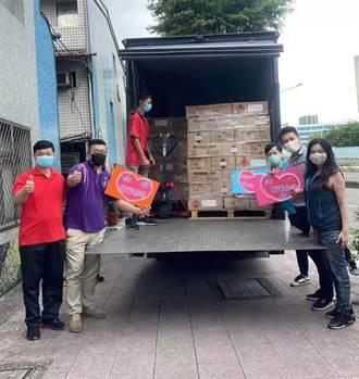 水木清華校友會 無償捐5櫃防疫物資、4櫃防護口罩