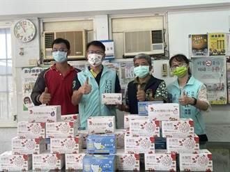 市議員王立任號召企業家 捐贈6000片口罩給清潔隊