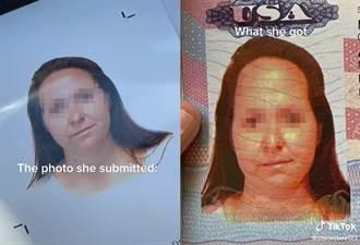 穿這樣拍證件照 她一拿到護照哭了:臉跟馬一樣長