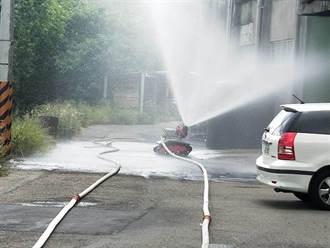 頭份市祥越興業公司氨氣瓶爆炸 2員工受傷1死亡
