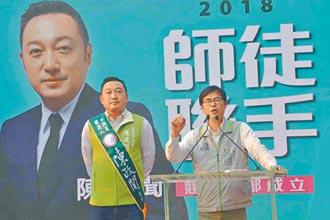 與陳其邁稱師徒 恐斷政治前途