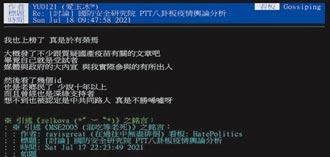 抹紅PTT 藍委批箝制網路言論自由