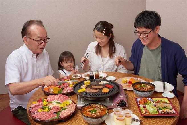 「燒肉的名門·赤虎」即日起推出外帶燒肉組,燒肉控可在家DIY享受燒肉樂趣。(圖/燒肉的名門·赤虎)