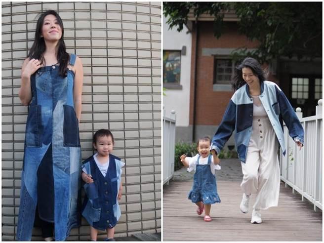張學仁帶大女兒Kali拍攝媽咪相關照片 。(凱特文化經紀提供)