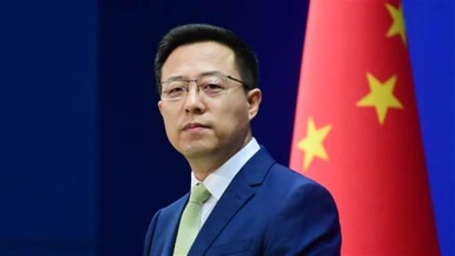 中國外交部發言人趙立堅。(中國外交部網站)